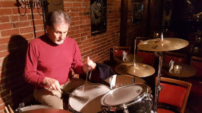 Barry Casson, csc, 'Take Action' Public Speaker, Musician, Drummer offers drum lessons in Victoria, BC Canada
