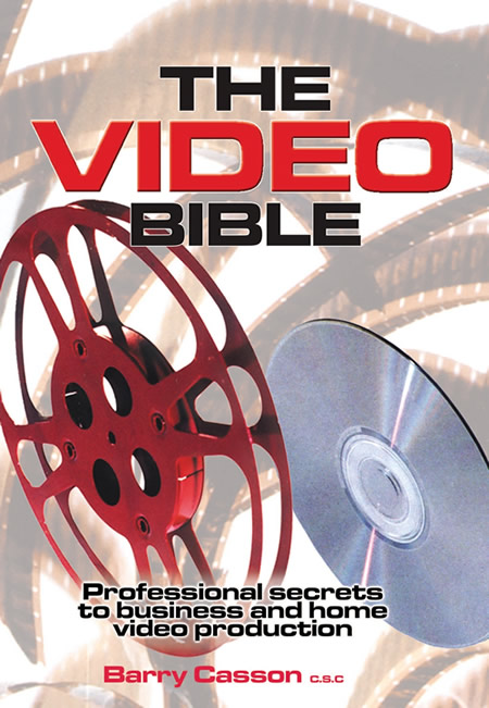 The Video Bible by Barry Casson, author, book cover